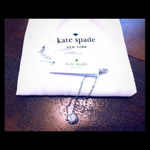 NWT Kate Spade Infinity And Beyond Stud Necklace